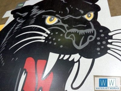 2014 Brookhaven High School Panther Logo