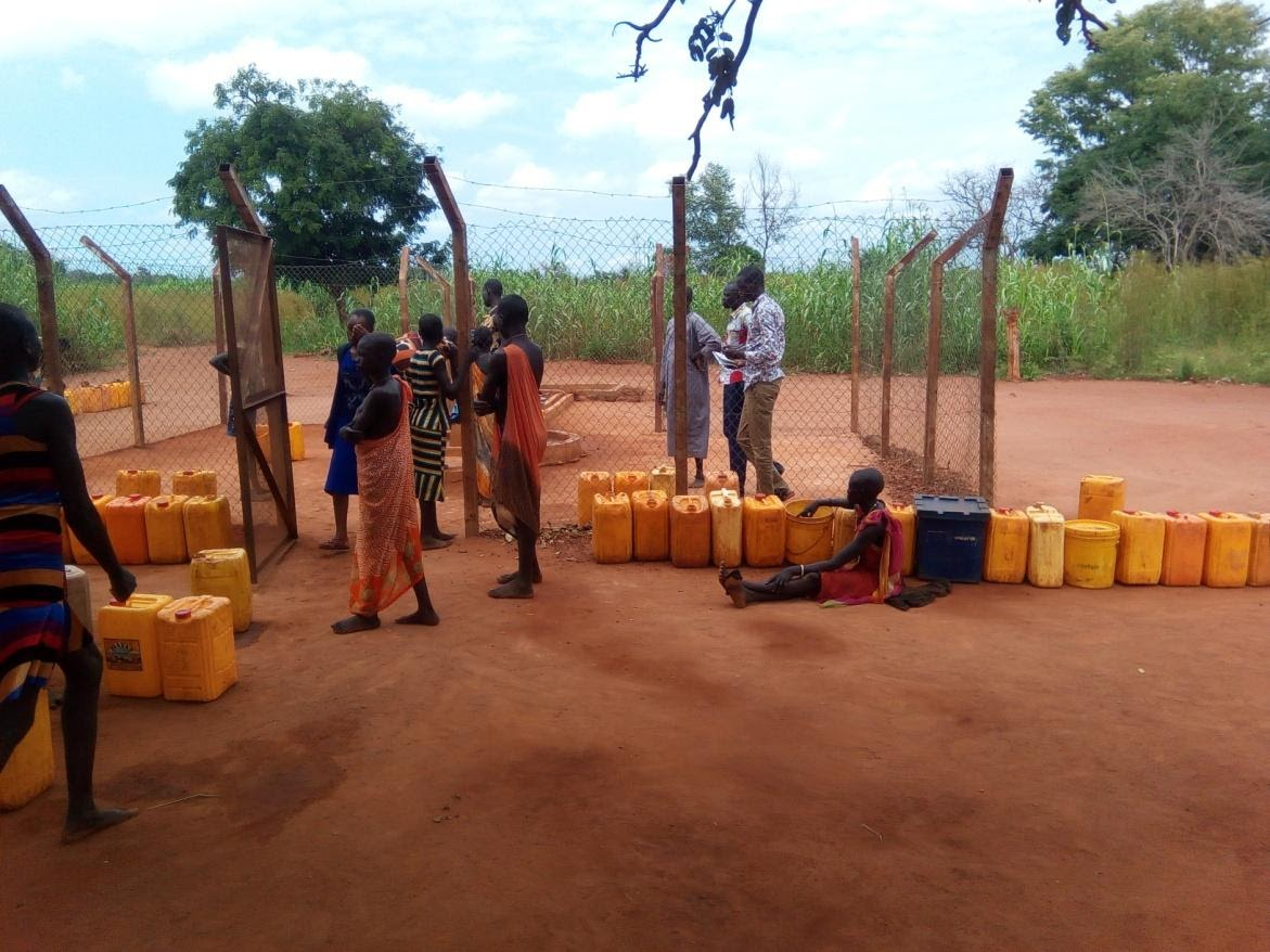 In South Sudan, people living near water still lack clean water and sanitation