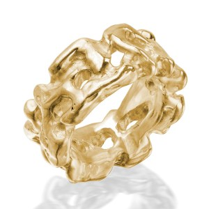 Ring Coral gold