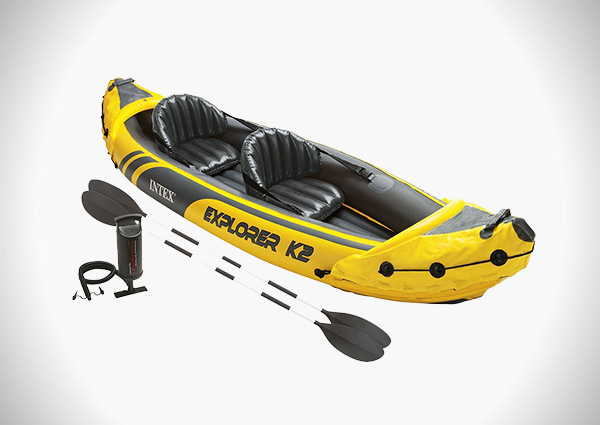 Intex Explorer K2 Kayak, 2-Person Inflatable Kayak Set