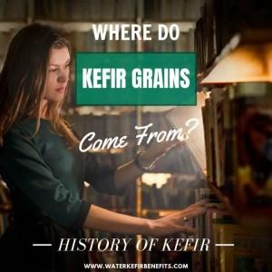 Milk Kefir History - Where do Kefir Grains Come From