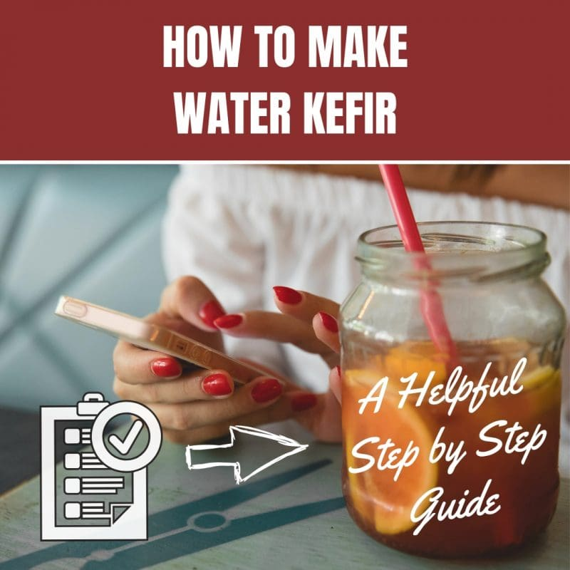 How to Make Water Kefir A Helpful Step by Step Guide