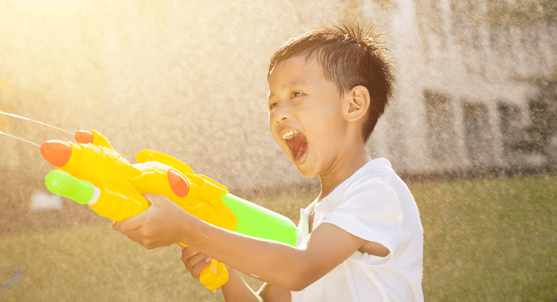 How do Super Soakers Work