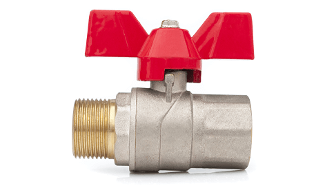new water shutoff valve