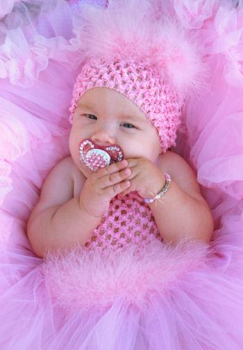 Cute Babies With Pink Dress Wallpapers T 220 T 220 Modellerİ Waterlilys