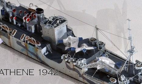 1/700 輸送艦 アシーニー 1942