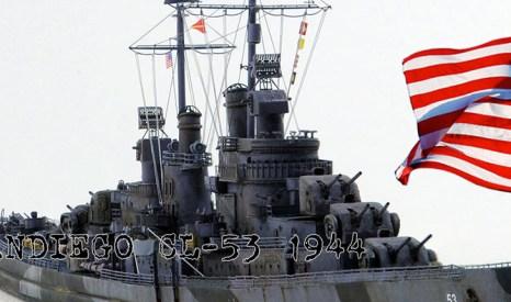 1/700 軽巡洋艦 サンディエゴ 1944