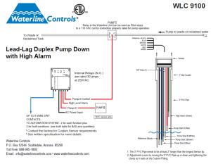 WLC9100  LeadLag Dual Pump Down Alt Pumps | High Level