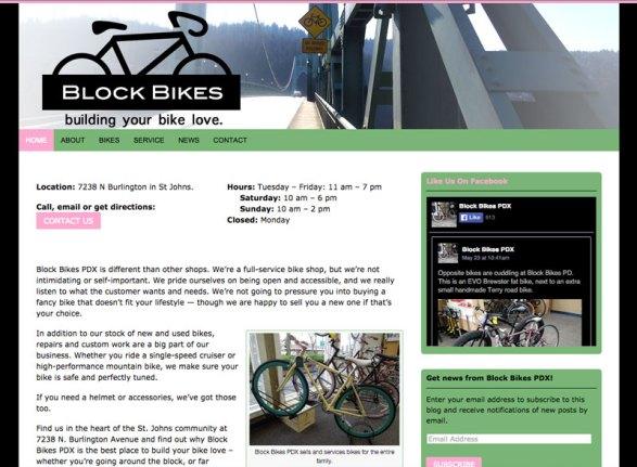Block Bikes PDX