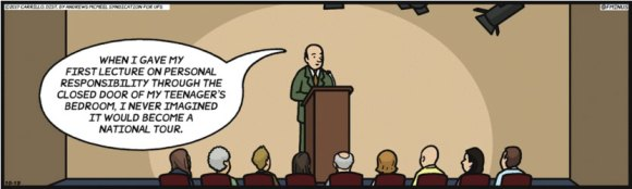 F Minus cartoon illustrating the mysteries of digital marketing.