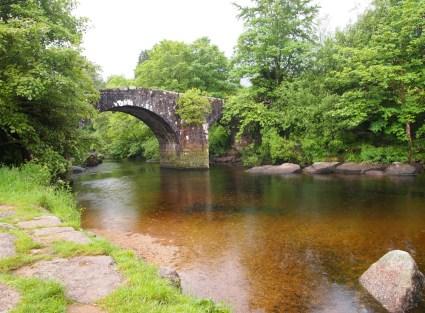 The bridge at Hexworthy