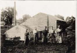 I.E. Bowman Tannery in St. Jacobs, Ontario; Source: Kitchener Public Library Archives