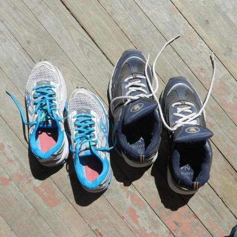 Running Shoes, Waterloo Wayside, Walking