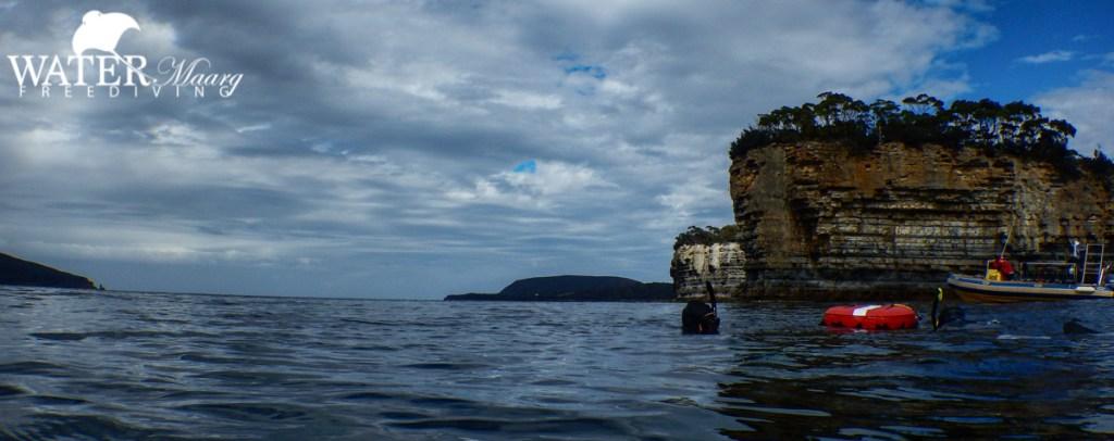Freediving Port Arthur Tasmania
