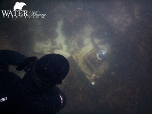 Pope's Eye underwater camera