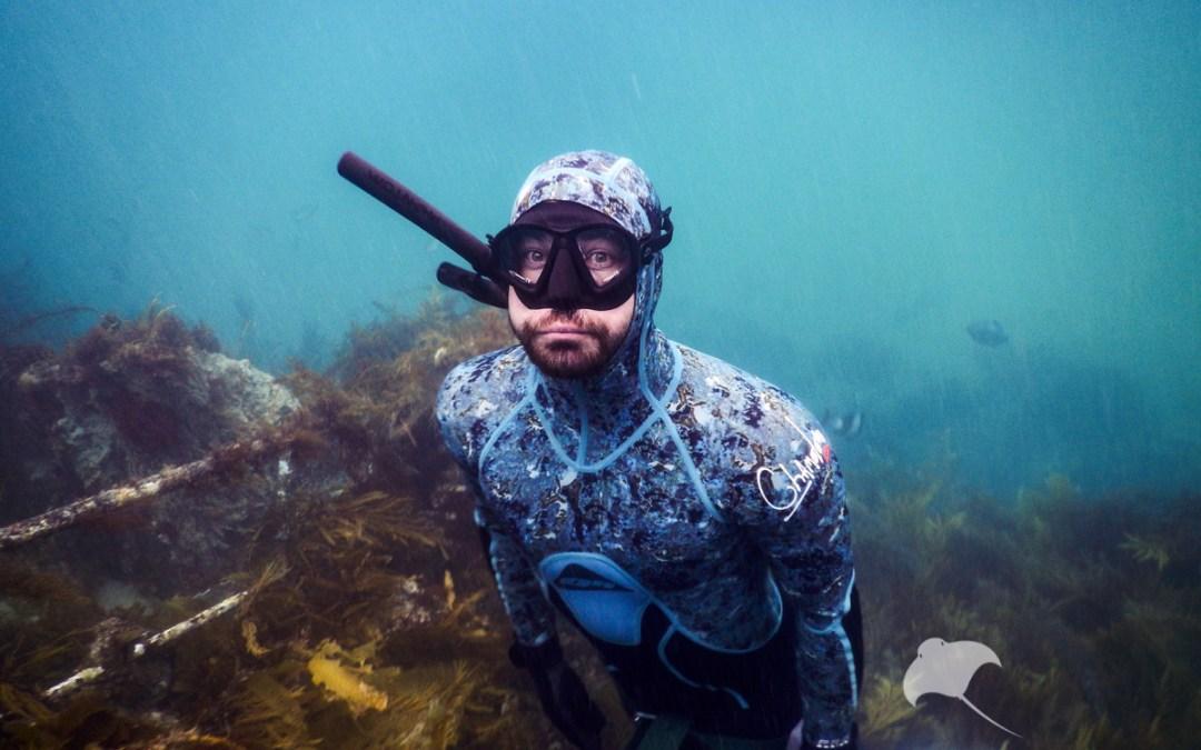 Freediving Lady Cheryl Wreck