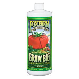 FoxFarm Qt Conc Grow Big Liquid