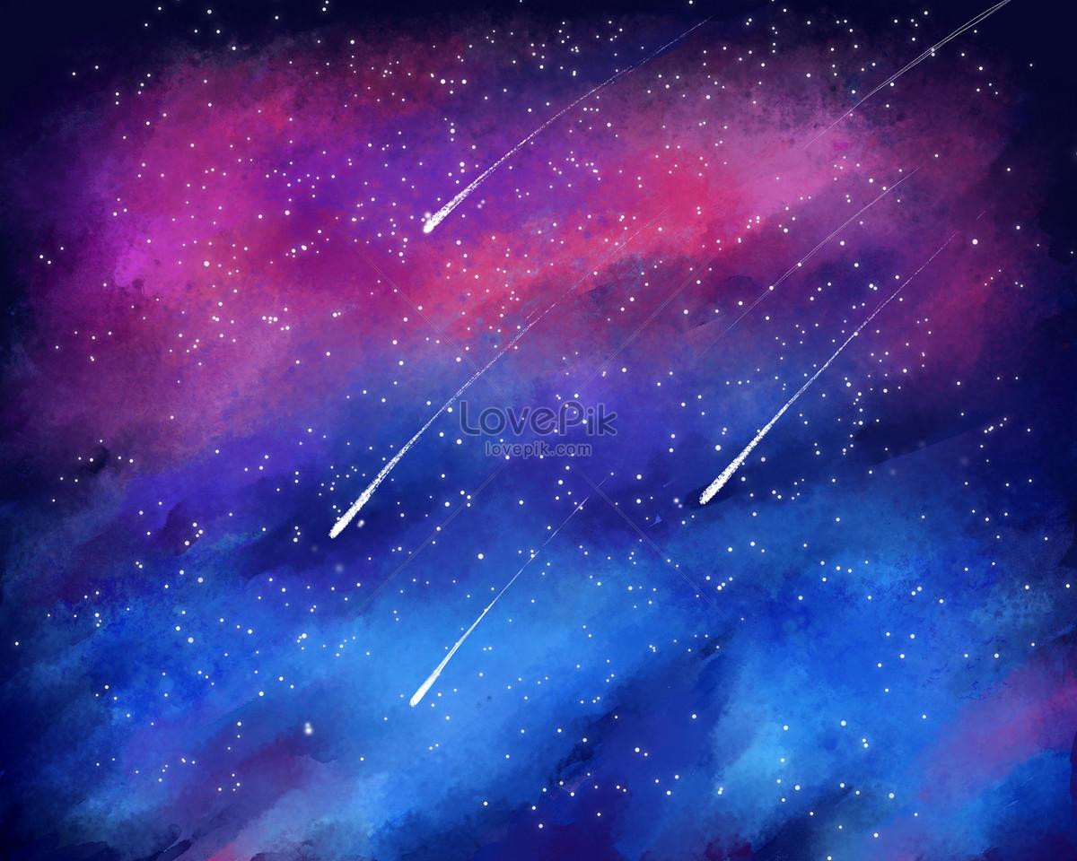 星空流星插畫圖片素材-PSD圖片尺寸2500 × 2000px-高清圖片400132884-zh.lovepik.com