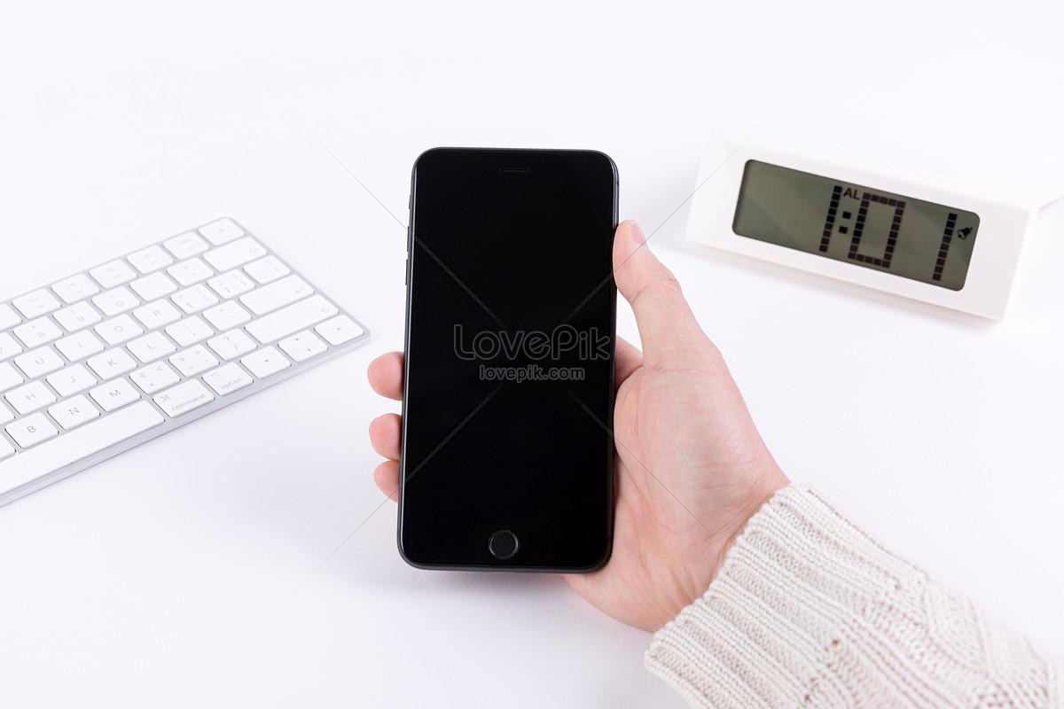 手拿手機樣機簡潔白底圖片素材-JPG圖片尺寸6720 × 4480px-高清圖片500816487-zh.lovepik.com