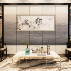 Chinese Living Room Transitional Style Background Creative Image Picture Free Download