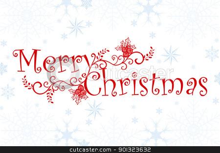 fancy merry christmas clip art