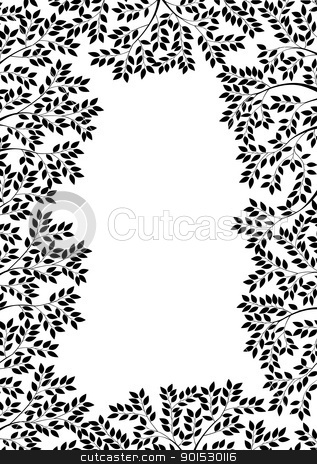 Nature silhouette stock vector