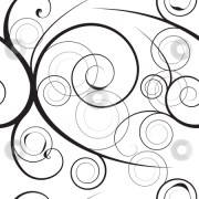 floral swirl background stock vector