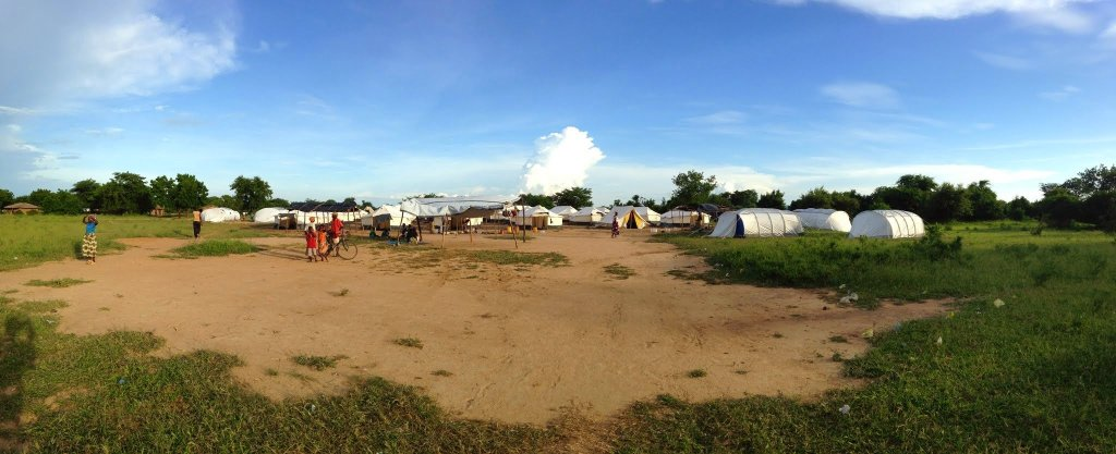 Malawi Floods Displacement Camp