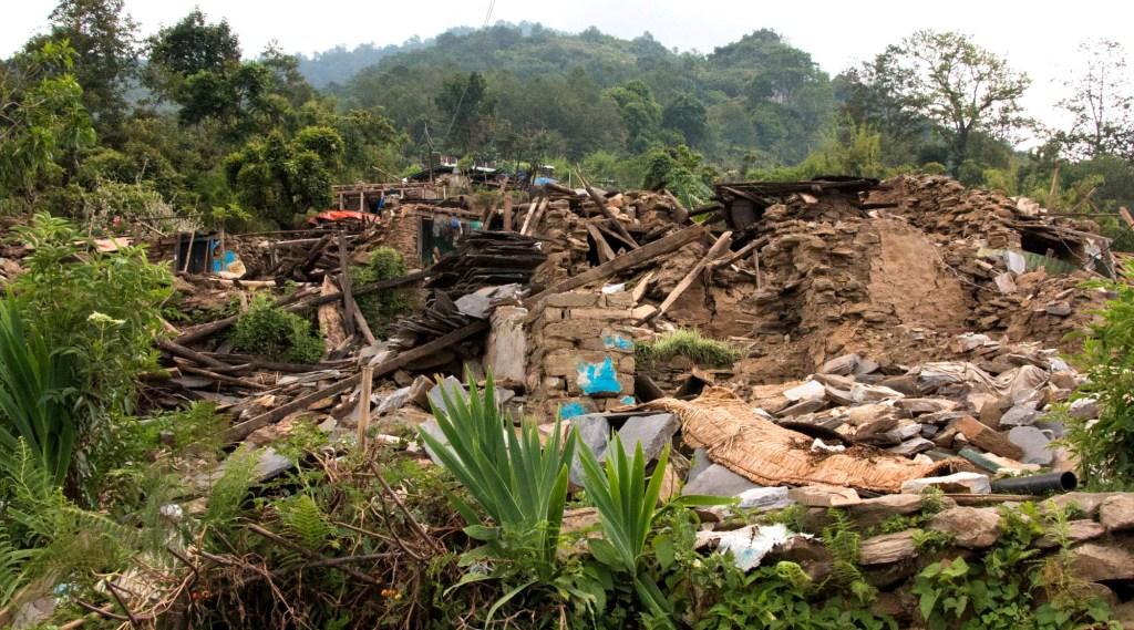 Earthquake destruction in Keura | Nepal Earthquake
