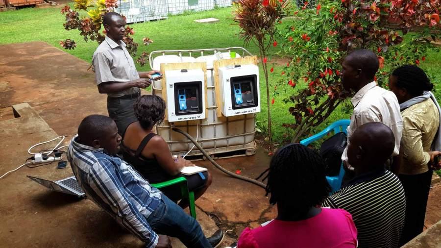 Grundfos AQ Tap in Uganda