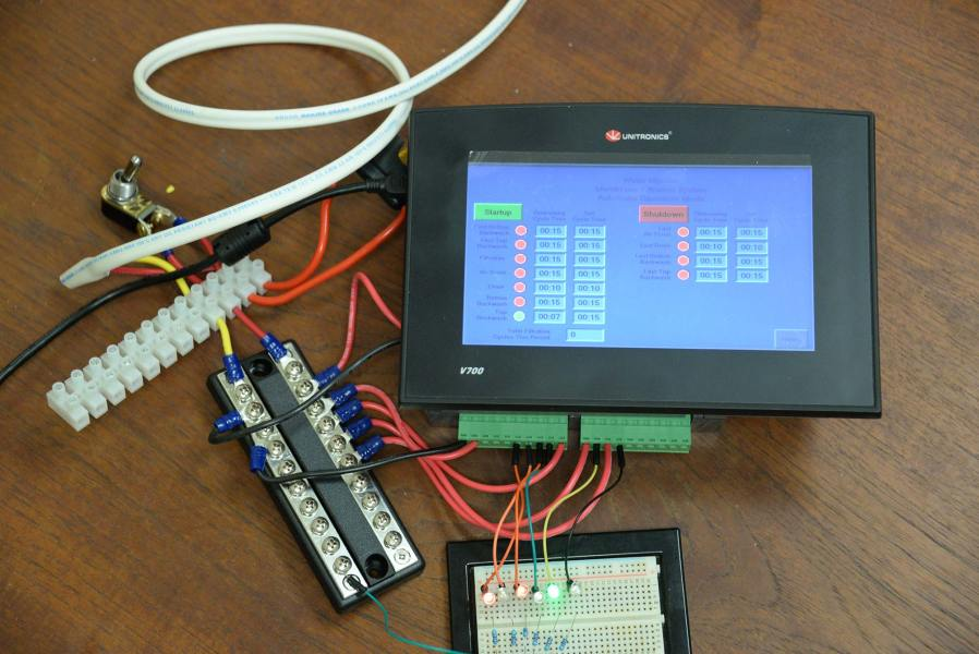 Programmable logic controllers.