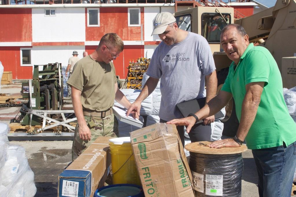 Water Mission Haiti responds to Hurricane Matthew.