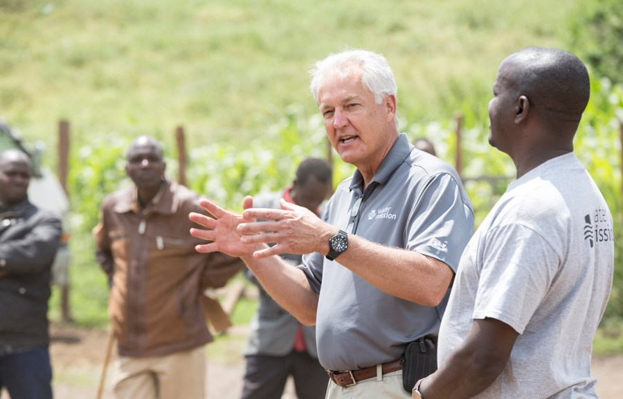 Will Furlong, Water Mission Director of Africa Programs, discusses the Enariboo, Kenya water project.