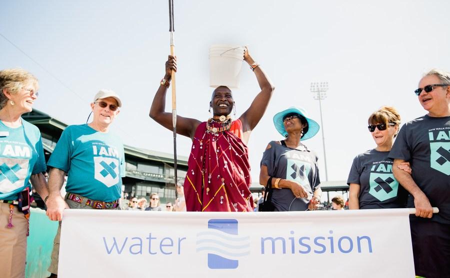 James Nampushi at the 2016 Charleston Walk for Water