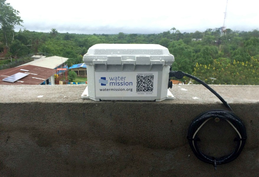 Water Mission's SatWater Communicator