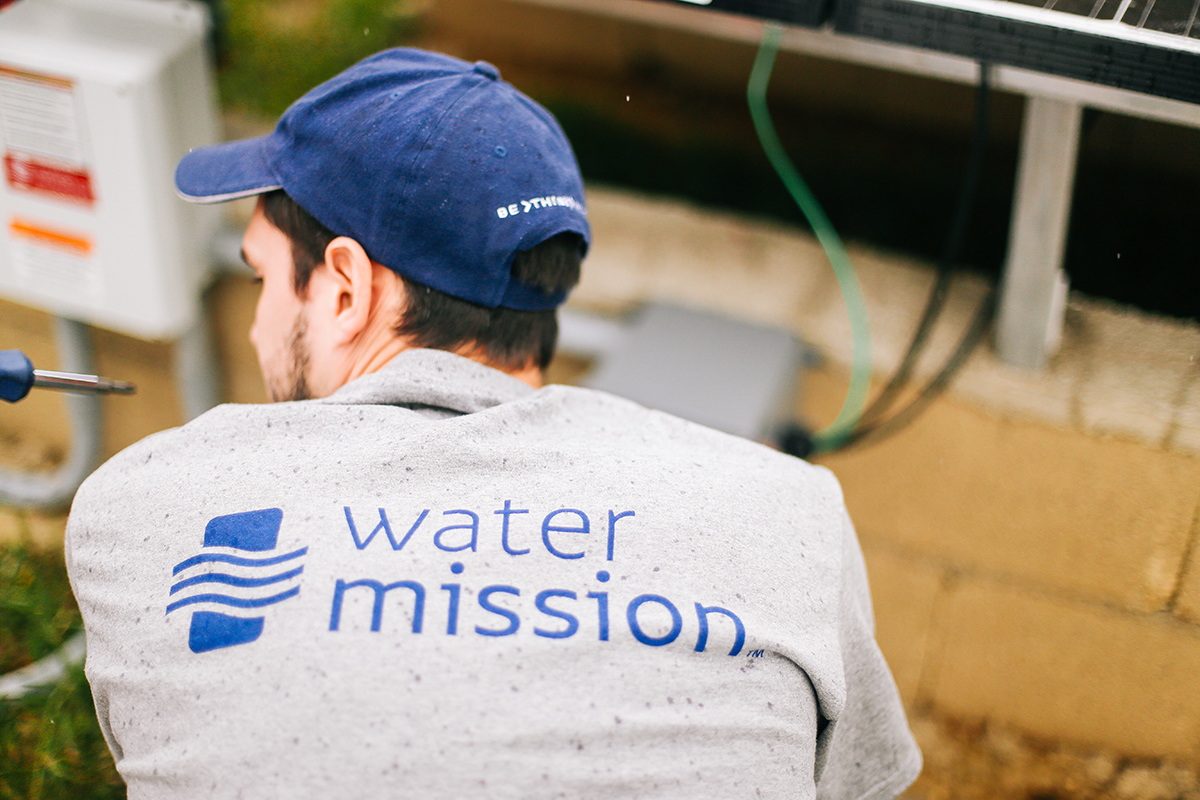 Water Mission team member