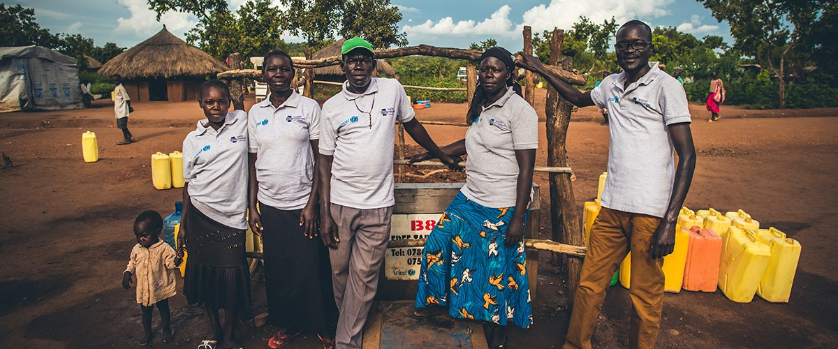 Water Mission Uganda team