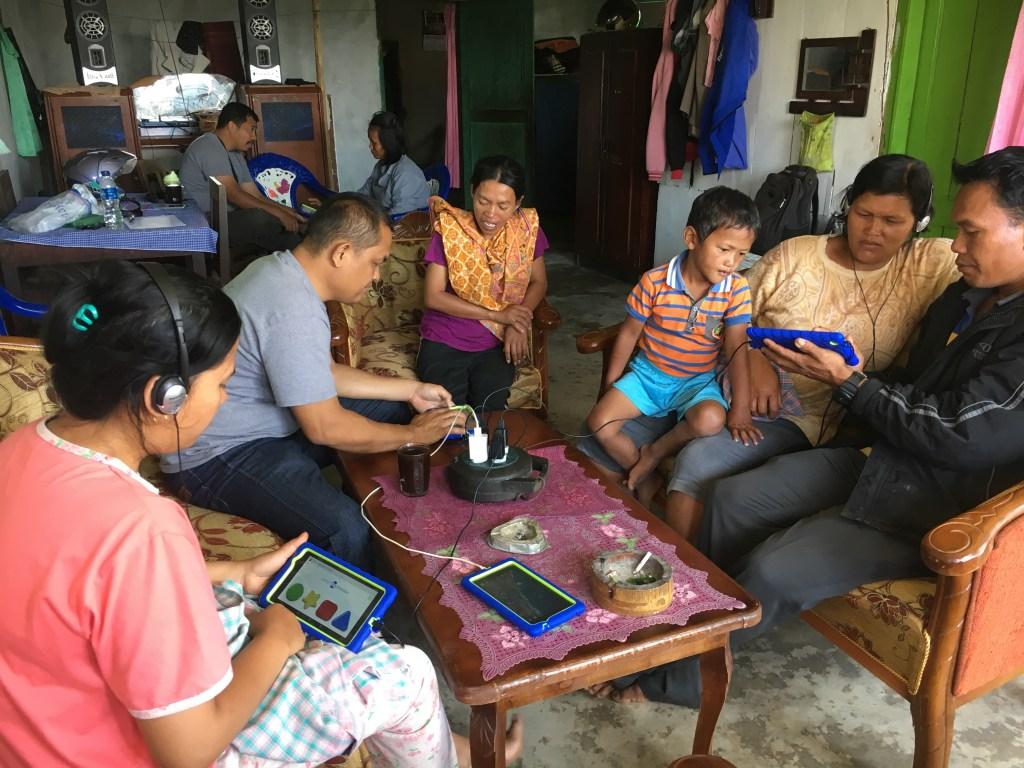 Restore Survey participants in Indonesia