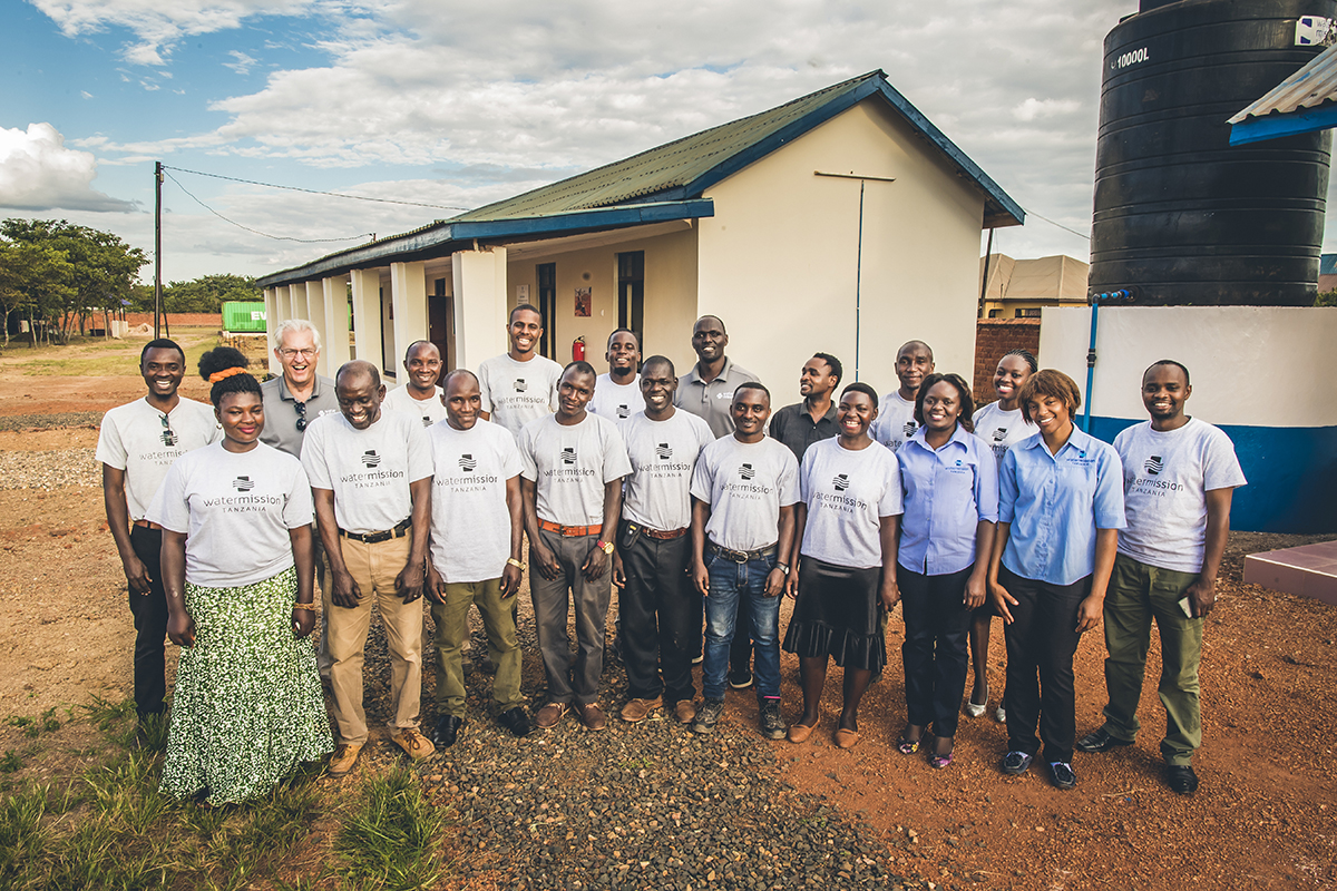 Water Mission Tanzania staff