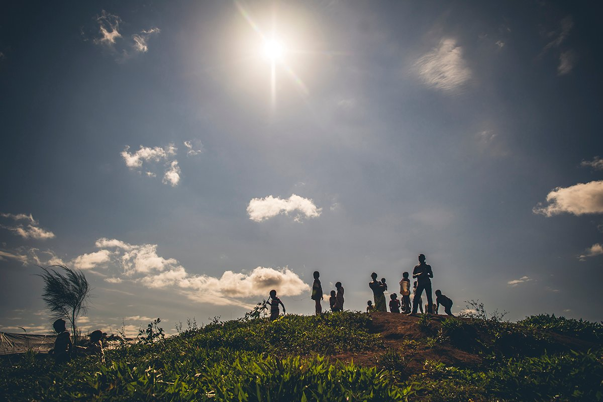 Sunlight in Nyarugusu Refugee Camp