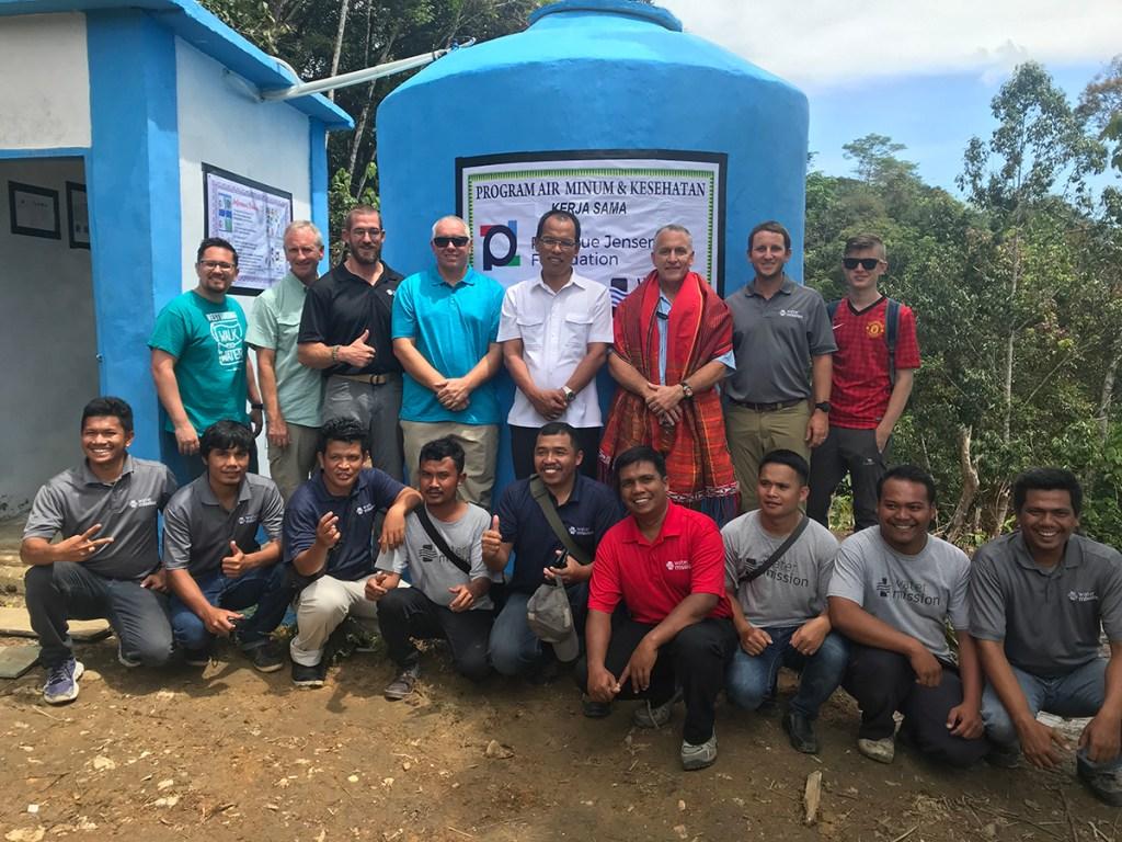 Water Mission Indonesia & Charleston staff