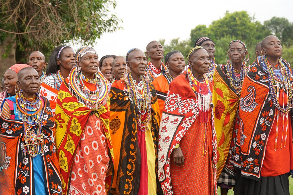 Maasai in Enkereri, Kenya.