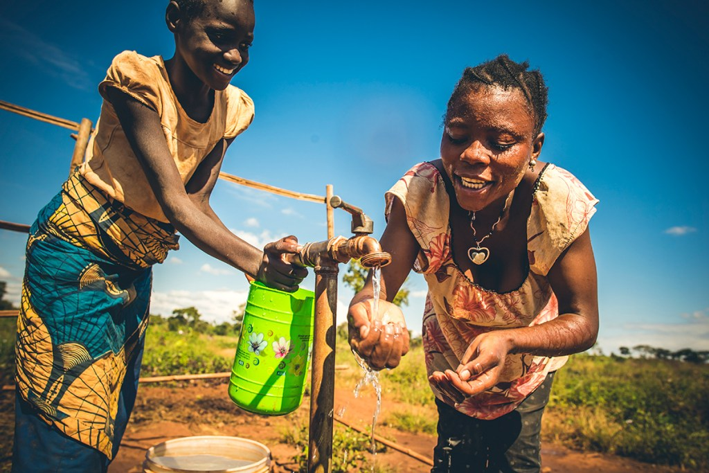 Safe water in Nyarugusu Refugee Settlement