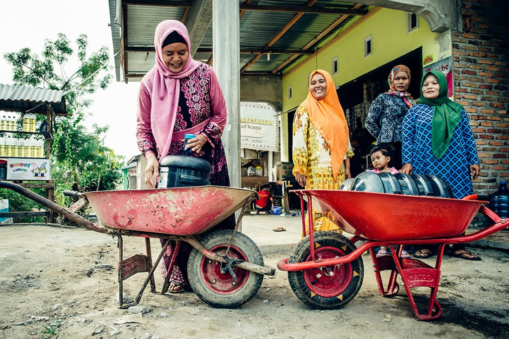 Safe water in Indonesia