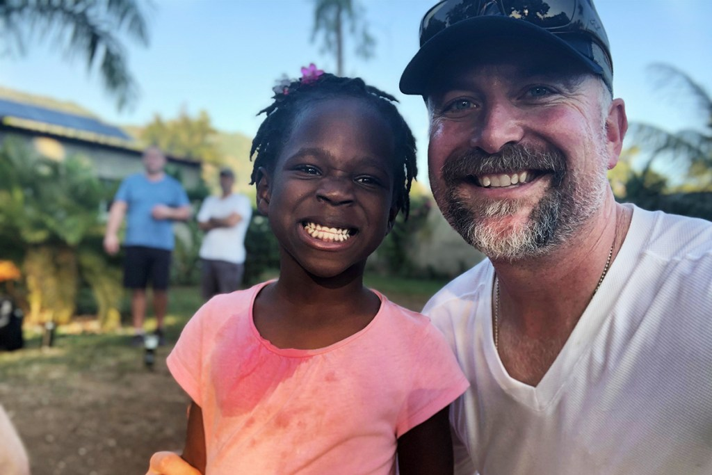Scott in Haiti