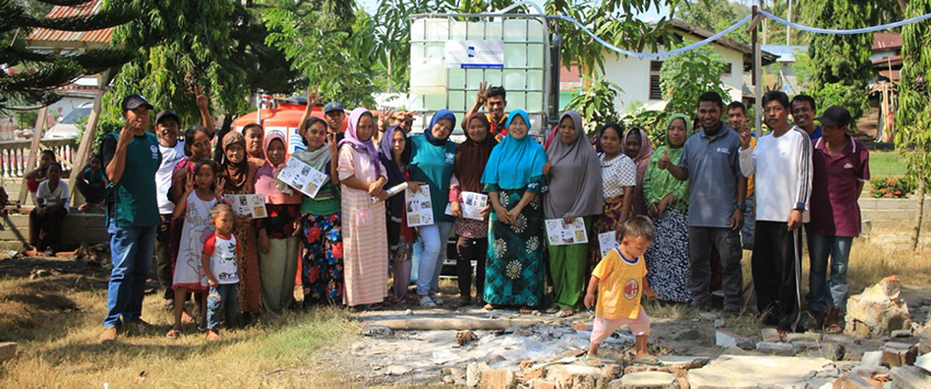 Safe water in Sulawesi, Indonesia