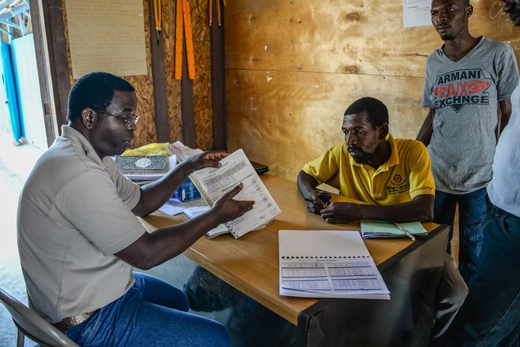 Sustainability training in the community of Savanne Ronde, Haiti
