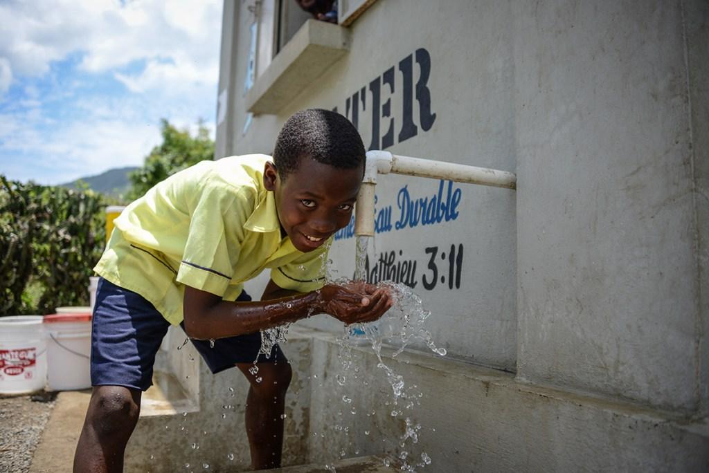 Safe water in Haiti