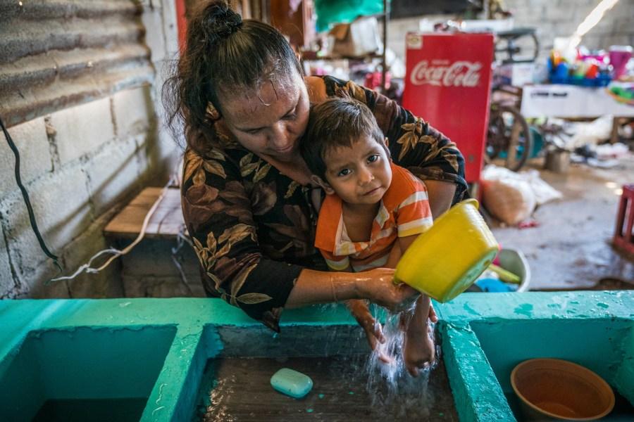 hygiene, wash, mexico, hand washing, washing hands, mother, sanitation, wash hands, family