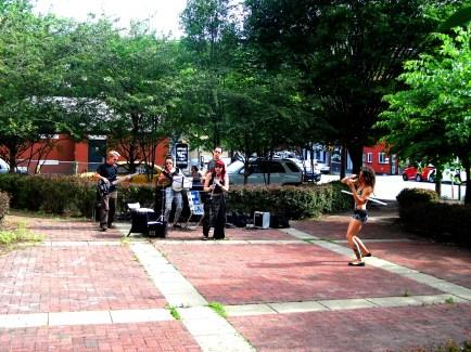 Band at Park